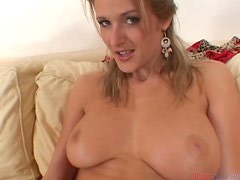 Busty blondie Jane Darling gets in a hot POV scene