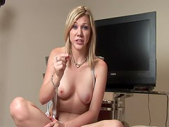 Jerking Off Lesson With The Amateur Blonde Sophie Crus