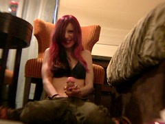 Sex Toying With The Redhead Teen Symone