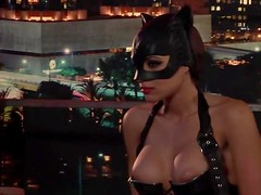 A Hot Scene With The Kinky Cat Woman Melany Denyse