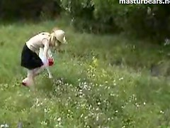 Holiday Nature masturbation Inge