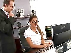 Sexy Secretary Gets Fucked Hardc...