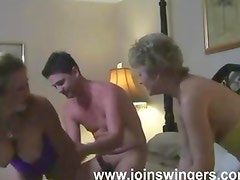 Experienced group swingers intimacies