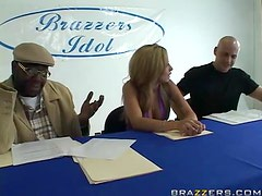 Brazzers Idol With Two Hot Babes And A Hard Cock