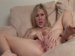Samantha Sin Blonde Wildest Masturbation Session