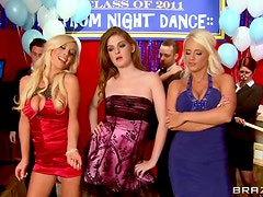 Brazzer's Prom Night Dance With the Sexiest Bitches