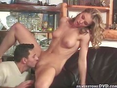 Sexy Horny Blonde Lynn Stone Giving Amazing Cock Ride