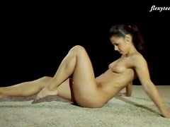 Fit ballerina body in the nude is yummy