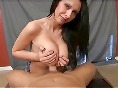 Busty Whore Takes a LOAD!