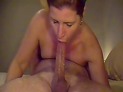 milf swallows- mouthfucking
