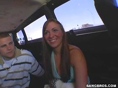Bang Bus Bang For The Sexy Blonde Bianca