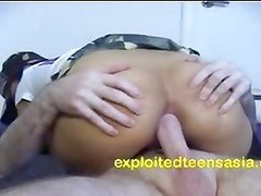 Jenny Filipino Teen Takes It In The Ass Hard & Deep, AT