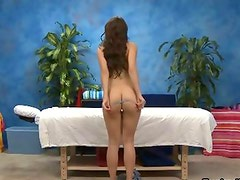 Sexy teenage babe gets horny getting