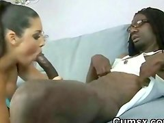 Whooty Ho Sucking Monster Black Dick And Takng In Her Ass