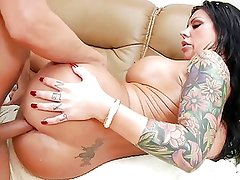 Tetas grandes - Hot Inked Ass Meat !!!