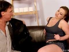 Excessive peeing and fucking with a horny babe Andi