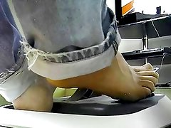 Barefoot using Xbox 360 pedals