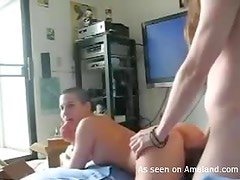 Teen Couple Film Themselves Fucking Hard