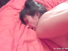 Sexy Babe Sucks a Hard Dick in a Dirty Video