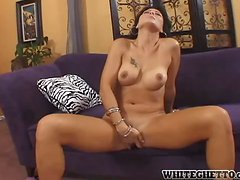 Zoey Chandler sucks and rides some horny guy's cock