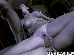 Assfucked, DP & Mouthful Of Jizz.