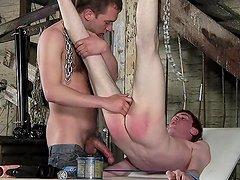 Lincoln Gates and Milo Taylor in the gorgeous BDSM vid
