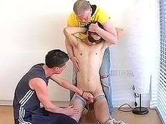 Absolutely amazing threesome with Justin Baber,Max Castle and Sebastian Kane