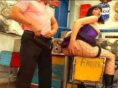 Two horny babes are getting banged by two dudes
