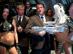 Science fiction orgy scene is great