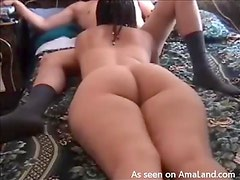 Hot Chick Gets Her Ass Filmed As She Gives A Blowjob