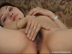 Asian Couple Having A Little Bit Of Fun In Homemade Video