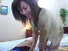 Tight Asian MILF Gets Her Pussy Drilled In Her Favorite Positions in POV