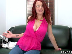 Jessica Rabbit the naughty redhead babe gets fucked in the office