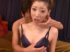 Lovely Japanese Chick Fuck'd & Jizzed On The Face