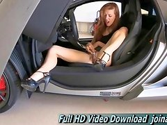 Lacie turned 18 this gorgeous redhead Total First Time Experience here with FTV