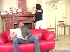 Katala gets her pussy fingered and fucked by some horny black stud