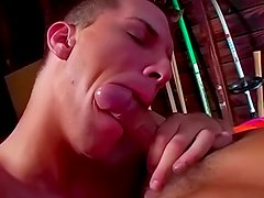 Jayson Masters being impaled in his mouth by Korey Haze