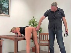 Hot hardcore BDSM with stunning busty blonde
