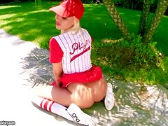 Sandy is one of the hottest baseball players