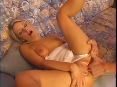Glamorous girl opened up by big cock