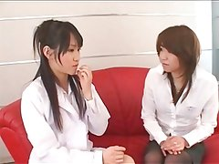Blouse Collar Up Clinic Girls