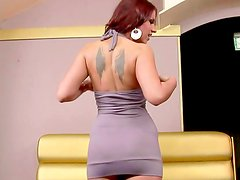 Redhead Angel has nice time with her naughty fingers