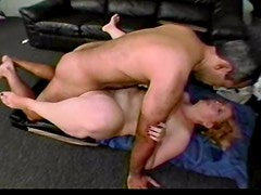 Mature cock and ball sucker laid