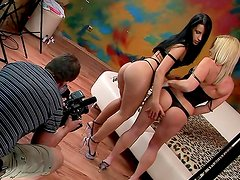 Tight butt lesbians drill anal holes mercilessly
