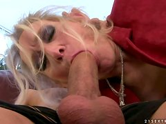 Beautiful Mature Blonde Having Sex with Her Boyfriend