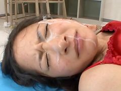 Estudiante - Sexy teacher Midori Mizuno gets fucked and facialed by her students
