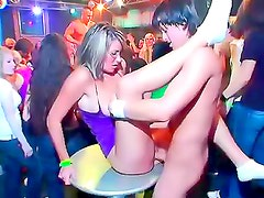 Drunk bitches fucked by male strippers