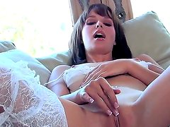 Hayden Winters slowly and sensually fingers