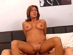 Busty MILF Tara Holiday enjoys deep penetration by wild Bruce Venture