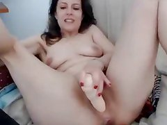 very sexy milf play with toy